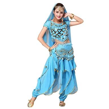 am besten wählen Suche nach Beamten billig werden Dxlta 4 teile/satz Bauchtanz Kostüm Bollywood Kostüm ...