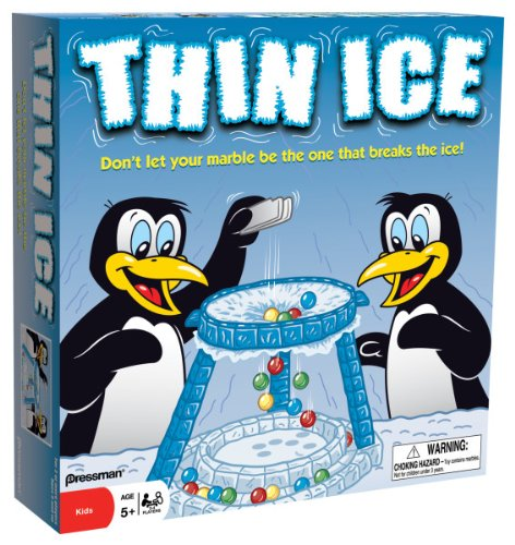 thin ice winter game for kids