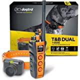 Dogtra T&B Dual 1-Dog Long Range 1.5-Mile Expandable Dual DIAL Training & Beeper Remote Dog Training E-Collar for Upland…