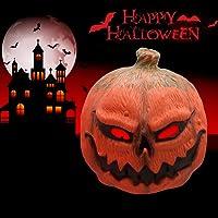 Cooolla Maschera Halloween Latex Mask Realistic Horror Creepy Zucca Maschere per Adulti Haunted House Dressing Halloween Costume Masquerade Party Puntelli Cosplay