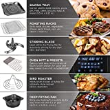 Best Choice Products 12.4qt 1700W 12-in-1 Programmable Electric XL Air Fryer Oven, Rotisserie, Dehydrator Cooking Set w/ 7 Accessories, LED Touchscreen, Viewing Window, Overheat Protection