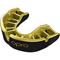 OPRO Gold Level Adult Mouthguard Gum Shield for Rugby, Hockey And Other Contact and Combat Sports