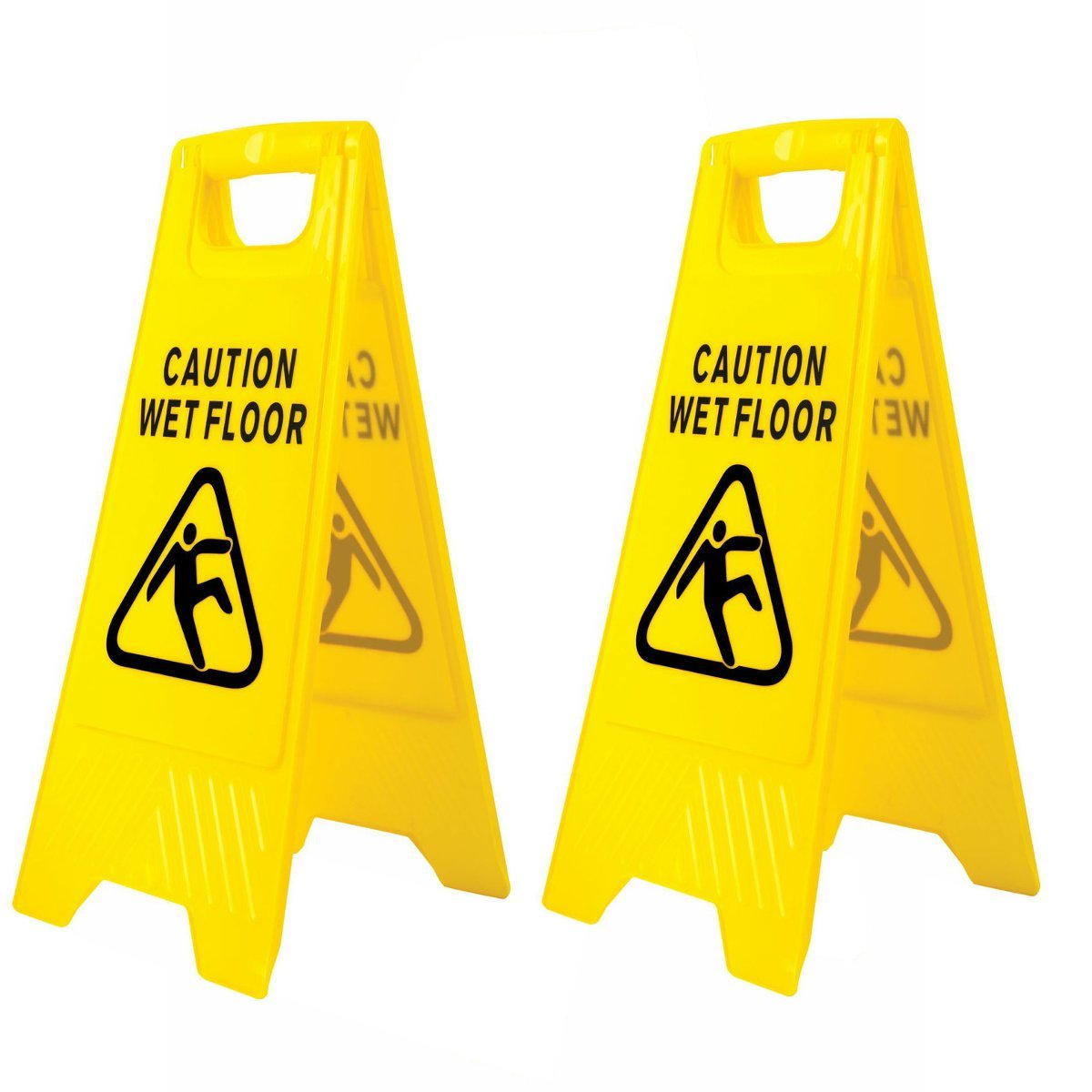 file yellow bright wet included vector eps sign floor