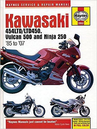 Kawasaki 454 Ltd, Vulcan 500 & Ninja 250 85 -07 Haynes ...