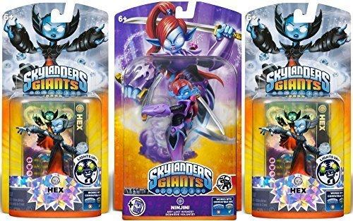 Skylanders Giants: Ninjini Giant Character and Receive 2 Lightcore Figures