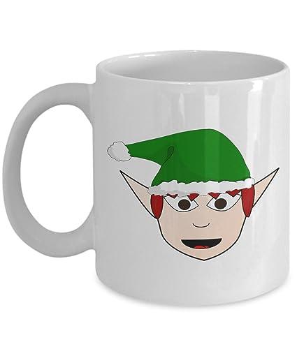 9d09c23a14e Amazon.com: Christmas novelty mug - Elf Mug- Funny coffee mug ...