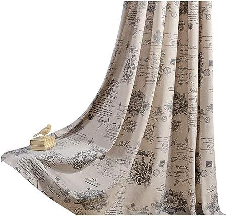 r/étro vintage Journal Rideau de douche de bain 152,4/x 182,9/cm /à la moisissure Polyester Rideau de salle de bain en tissu