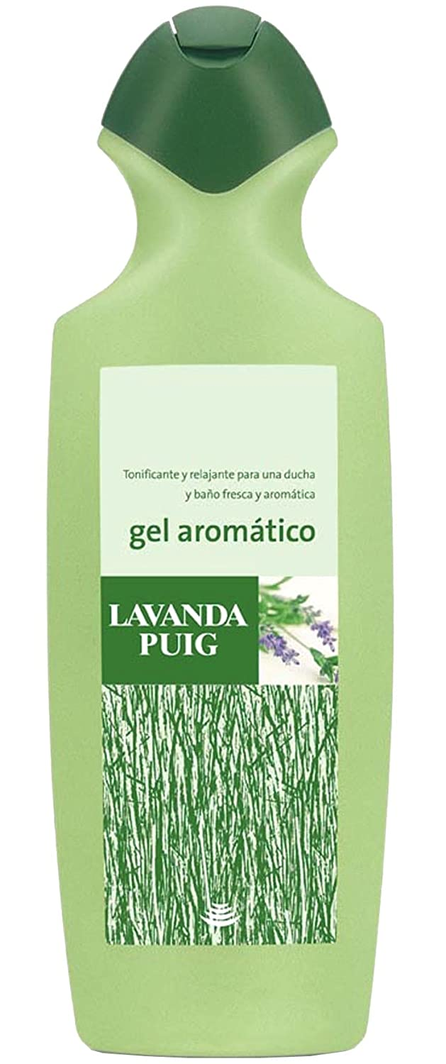 Amazon.com: AGUA LAVANDA PUIG COLONIA 25.5 OZ + GEL LAVANDA 25.4 OZ FREE: Beauty