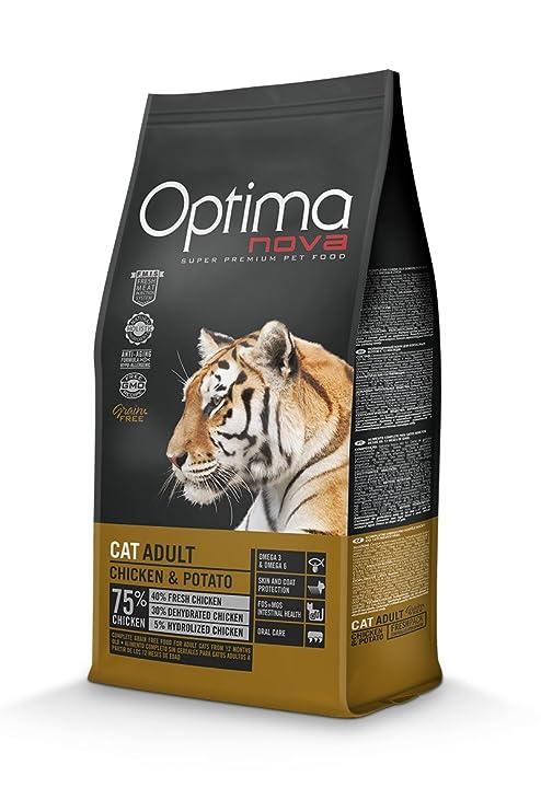 Opima Nova Gato Adulto Pollo y Patata 2 kg. Grain Free ...