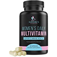 Multivitamin for Women High Potency Daily Vitamins with Biotin 1000mg - Natural...