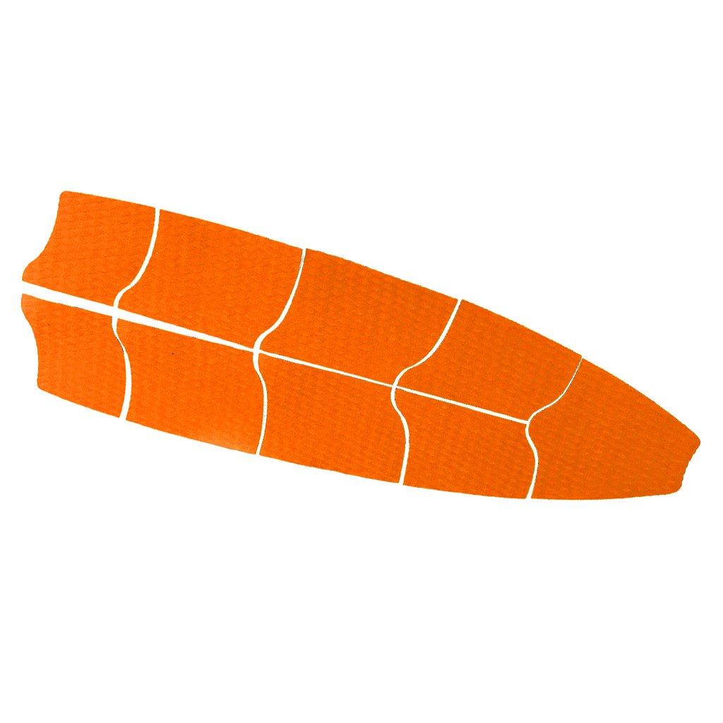 Baoblaze Tavola da Surf di Trazione Pad-Surf Full Deck pad di trazione, tappetino anti-scivolo, 9pcs/set - Verde