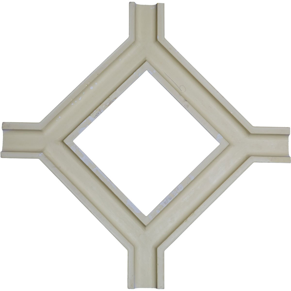 Ekena Millwork CC05ICI02X36X36TR 36W x 2P x 36L Inner Circle Intersection for 5 Traditional Coffered Ceiling System