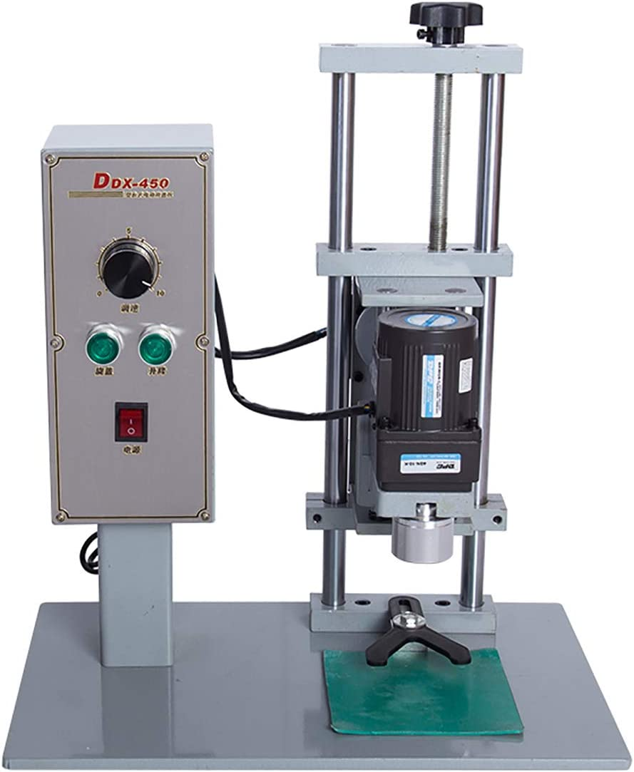 Huanyu Tornillo de tapa de la máquina tapadora de botellas eléctrica (DDX-450 01)