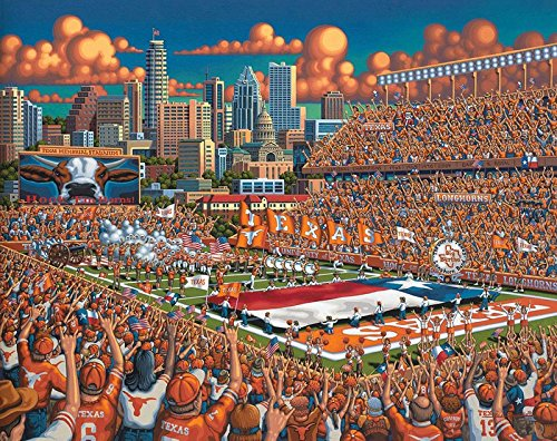 Texas Longhorns Football - 500pc Jigsaw Puzzle By Dowdle Folk Art
