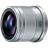 Panasonic 単焦点 中望遠レンズ マイクロフォーサーズ用 ルミックス G 42.5mm/ F1.7 ASPH. / POWER O.I.S. シルバー H-HS043-S