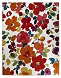 bright colored area rugs - Mohawk Home Strata Bright Floral Toss Printed Area Rug, 7'6x10', Multicolor