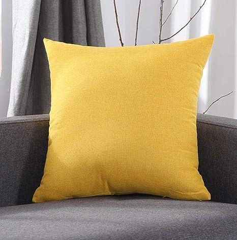 Sofá almohada color sólido almohada ropa de cama sofá cojín ...