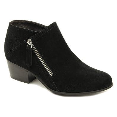 Floor Price Womens Shoes Vaneli Laurice Black Suede/Black Patent