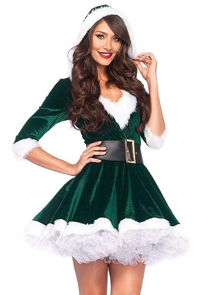 Amazon.com: Leg Avenue Disfraz de la señora Claus, de ...