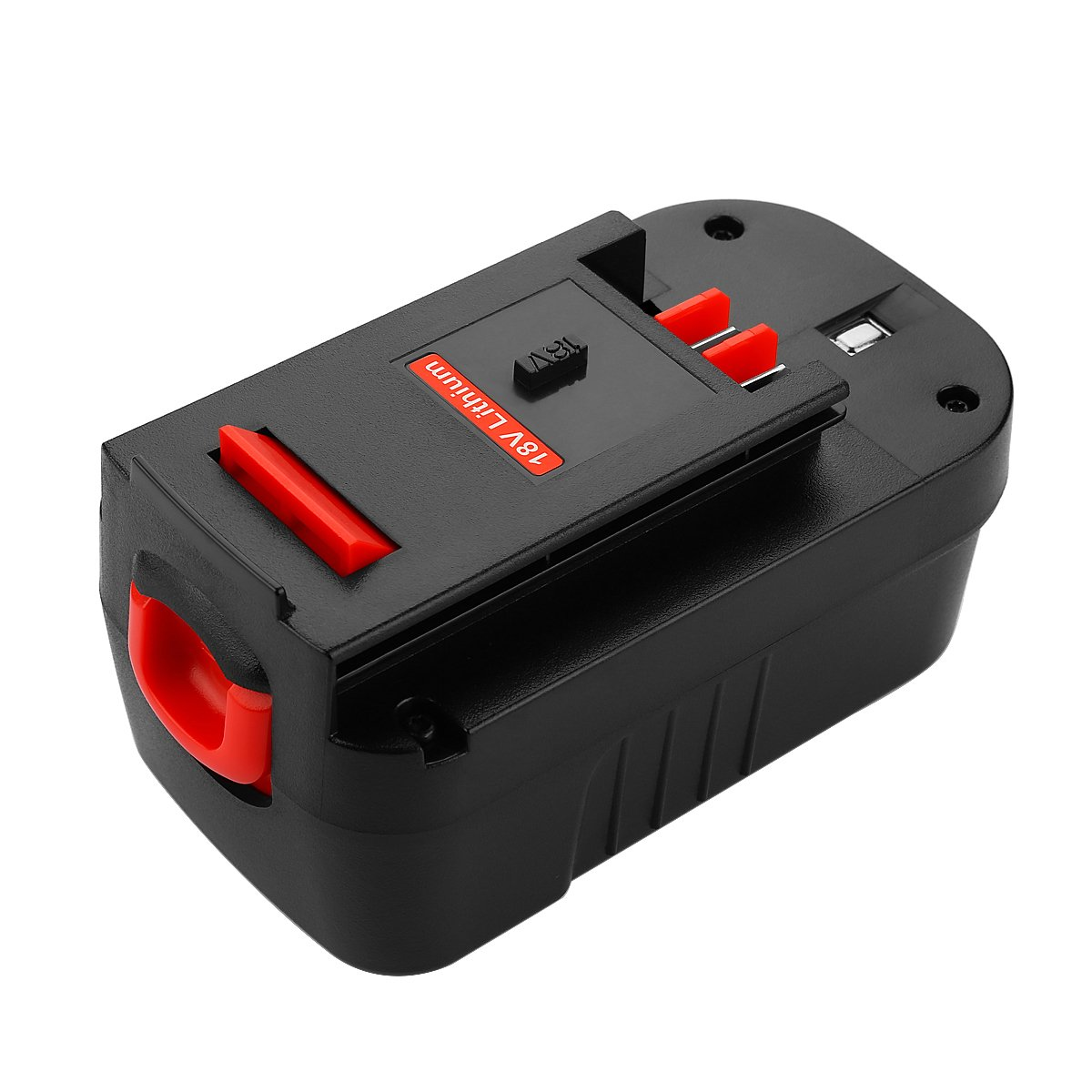 Energup Upgraded 5000mAh Lithium Black & Decker 18V Replacement Battery for HPB18 HPB18-OPE 244760-00 A1718 FS18FL FSB18 Firestorm Black and Decker 18 Volt Battery by Energup (Image #7)