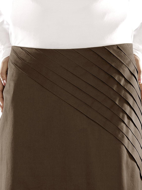 MyBatua Women鈥檚 Islamic Clothing Stylish Modest Hasibah Cotton Pant in Brown