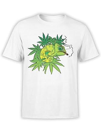 afd75a06 FANTUCCI Unisex Cannabis Shirt | Chameleon | XS - 3XL | 100% Cotton | Cool