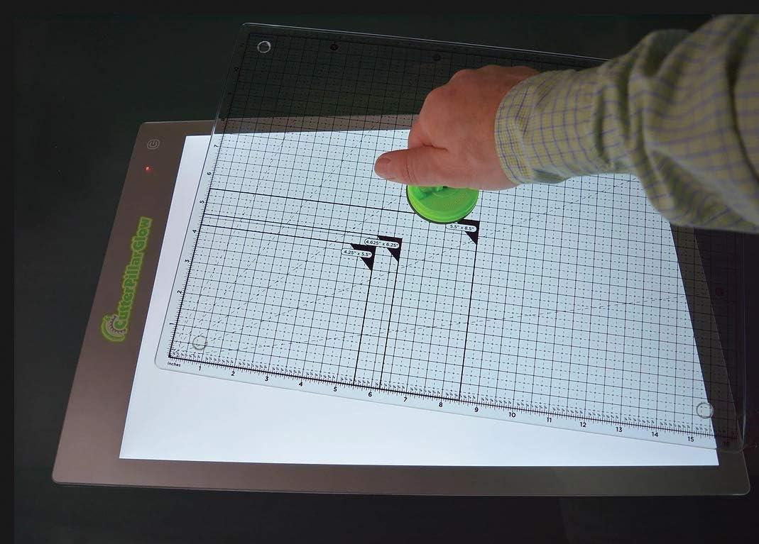 ghdonat.com Cutting and Moving Quilting Ruler Green Cutterpillar ...
