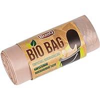 BranQ - Home essential Unisex vuxen toalettväska Bio 20 stycken begränsad utgåva för campingtoaletter, brun, 22 l