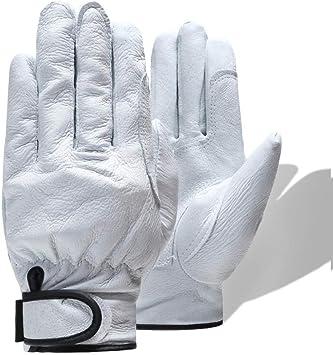 GBSTA Guantes Blancos más algodón Guantes de Trabajo de Seguridad cálida Mecánico Mecanismo de otoño Invierno Guantes de Trabajo para Trabajadores, Blanco,L: Amazon.es: Bricolaje y herramientas