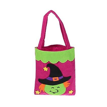 Amazon.es: YeahiBaby Bolsas de Brujas de Halloween Trick or Treat ...
