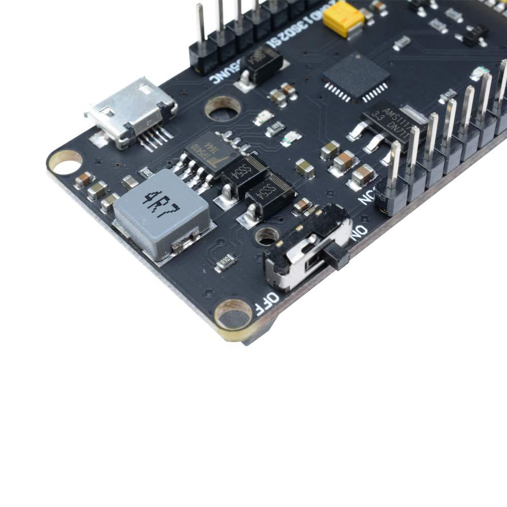 diymore WiFi Wireless Bluetooth 0.96 OLED ESP32 18650 Battery Akku Development Board Modul CP2102 AP STA AP Lua for arduino Wemos