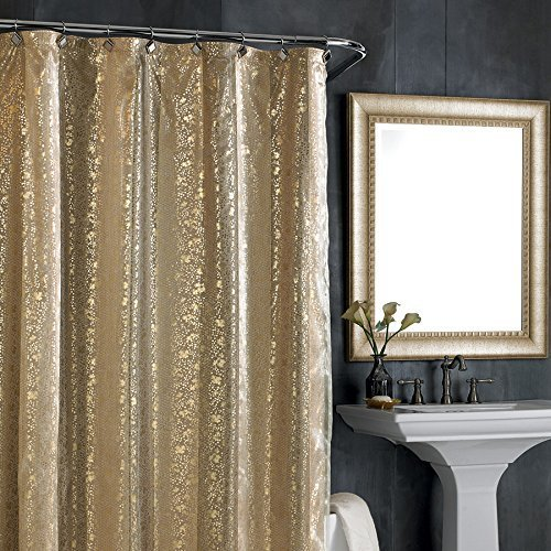 Shower Curtain Nicole Miller Sheer Bliss By Amazoncouk Kitchen Home