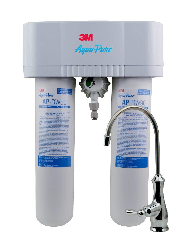 3M Aqua-Pure Under Sink Water Filtration System – Model AP-DWS1000