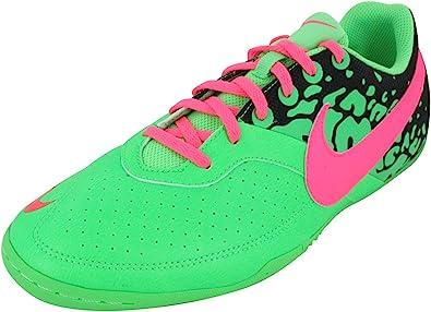 Fuera de principal lecho  Amazon.com: Nike ELASTICO II - Zapatillas de fútbol para hombre (tallas  36-38), color verde y rosa: Shoes