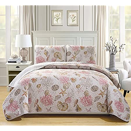 61uxg270EjL._SS450_ Coral Bedding Sets and Coral Comforters