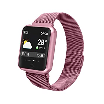 ZKLG P68 Smart Watch Men Women 2019 Blood Pressure Blood Oxygen ...
