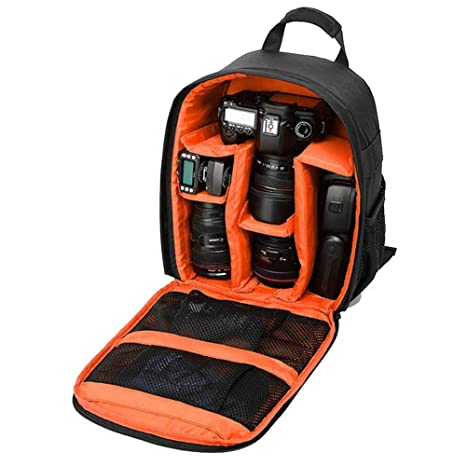 Waterproof Camera Backpack Bag with Tripod Holder for Nikon, Canon, Sony DSLR and Mirrorless