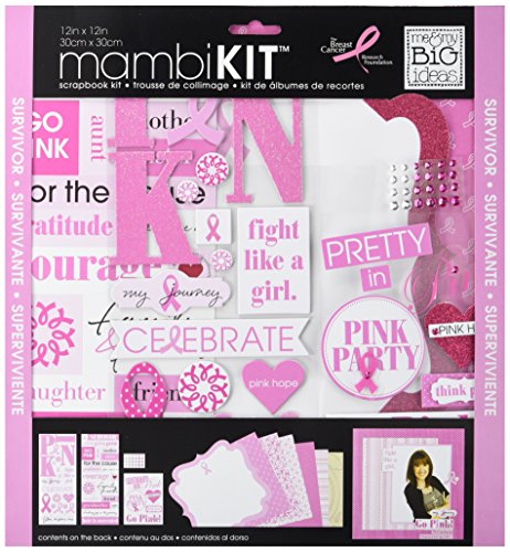 Kit Scrapbooking Page 12 (Me & My Big Ideas Pretty in Pink Page Kit, 12 by 12-Inch)