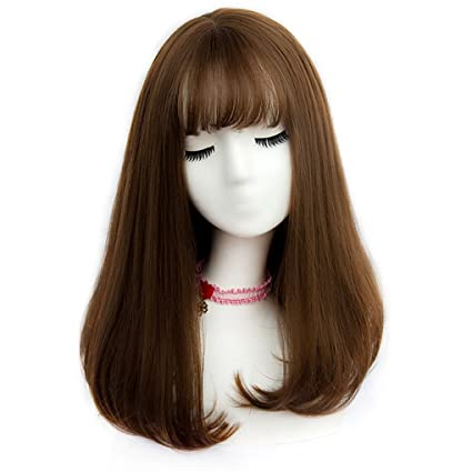 JIAN Tai-chi pelucas sintéticas para mujer sin tapón peluca de carnaval peluca de Halloween