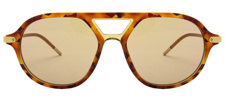 Sunglasses Dolce /& Gabbana DG 4343 3186M4 TOP CAMEL HAVANA//CAMEL TRANSP