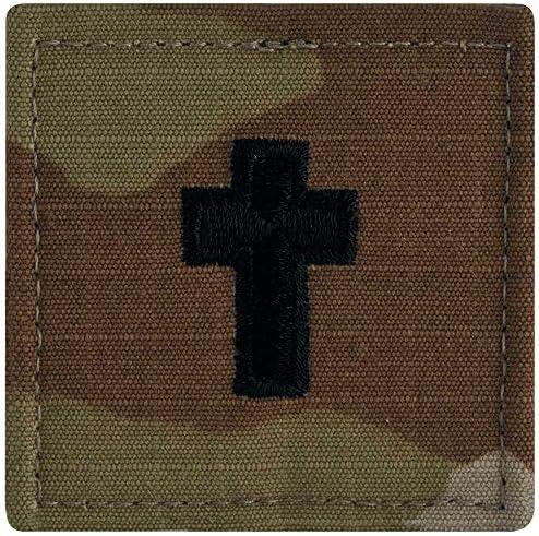 [해외]US Army Chaplain Rank OCPScorpionHook and Loop / US Army Chaplain Rank OCPScorpionHook and Loop