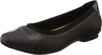 Médico circulación principio  Clarks Zapatos Bailarina Mujer Neenah Garden Dark para Mujer Gris 37.5 EU:  Amazon.es: Zapatos y complementos