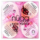 ngg 4 Day Moisturizing Face Mask Kit for Dry Skin: to Get Rid of Dry Spots and Intensely Hydrate and Moisturize Skin in just 4 Days; 4 Pack of Single Serve Pods (4 x 0.33 fl.oz.)