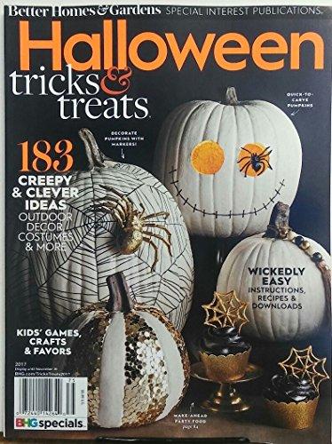 Better Homes & Gardens Halloween 2017 Tricks & Treats (Halloween Tricks And Treats Ideas)