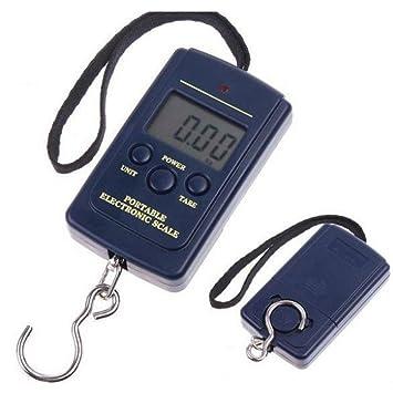 Digital Charmate® Maletín Báscula/Balanza de Equipaje (hasta max. 40 kg/10 gramos Pasos: Amazon.es: Equipaje