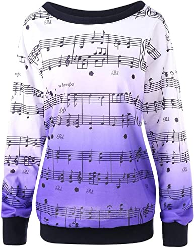 Darringls Sudadera para Mujer, Mujeres Suelto Jersey Suéter ...