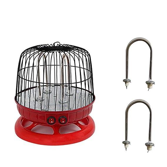 Calentador de jaula de pájaros mini estudiante hogar estufa de ...
