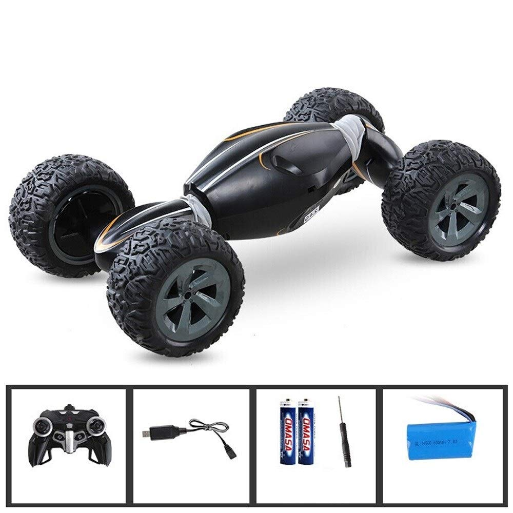 TBFEI 2.4Ghz Multifunction High Speed Drift Child Remote Control Car Plastic Electric Four-Wheel Drive Model Bigfoot Boy Toy Gift Racing Car for Kids Climbing Car (Color : Mixed) by TBFEI (Image #3)