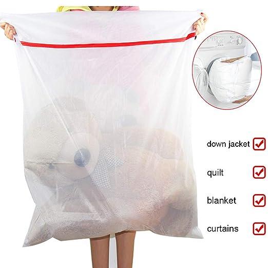 MeCare - Bolsa de lavandería (90 x 120 cm, con Cremallera ...