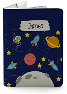 Kids Collection - Personalized Leather Passport Holder - Travel gifts